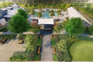 Nexton Unveils Midtown's Wellness, Pool and Racquet Club